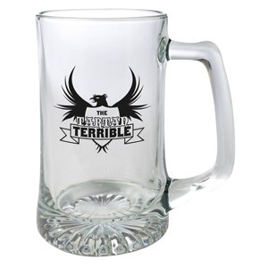 25 Oz. Beer Stein Glass